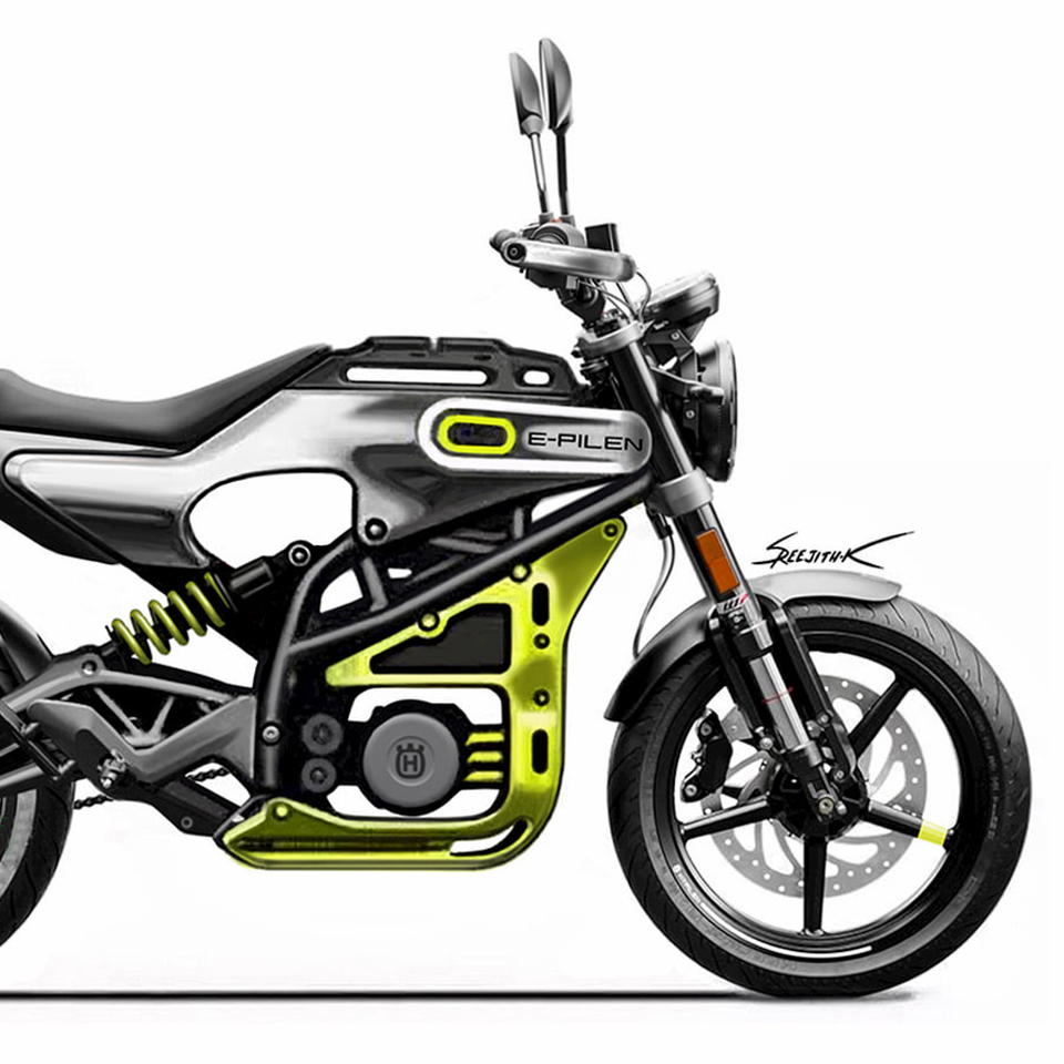Pierer Mobility - E-Pilen Husqvarna - Electric Vehicle Web - THE PACK - Electric Motorcycles News