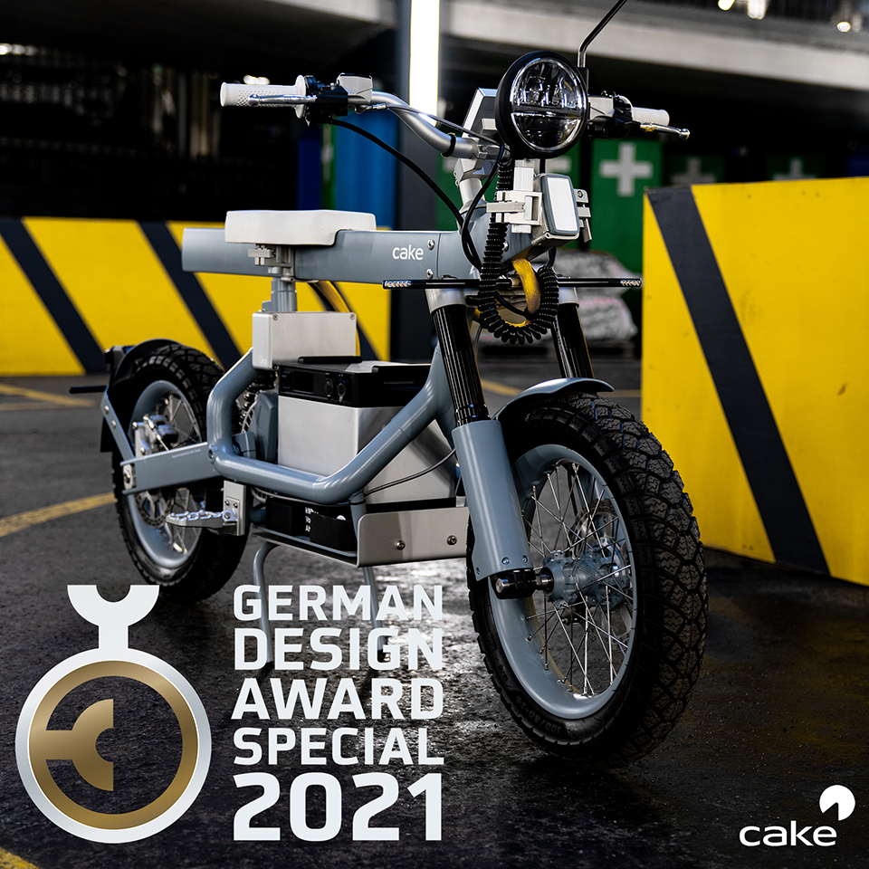 Osa - CAKE - Stockholm - Sweden - German Design Award - THE PACK - Electric Motorcycles News