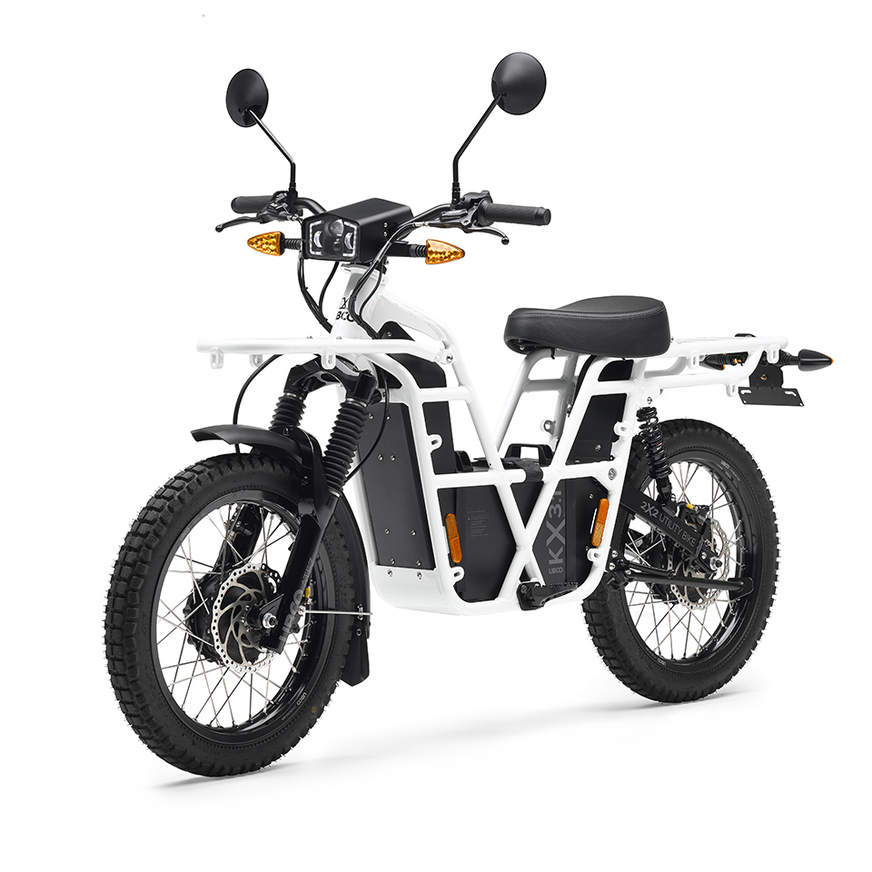 UBCO 2X2 Work Bike - Adventure Bike - THE PACK Electric Motorcycles News