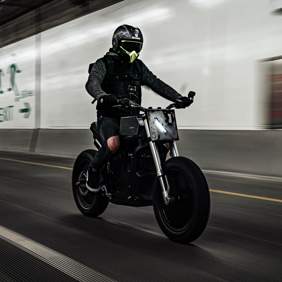Droog Moto DM-017 V2 E-Fighter - THE PACK - Electric Motorcycles News