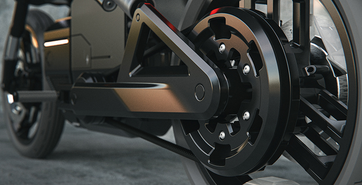 Tanner Van De Veer - Harley Davidson - THE PACK - Electric Motorcycles News