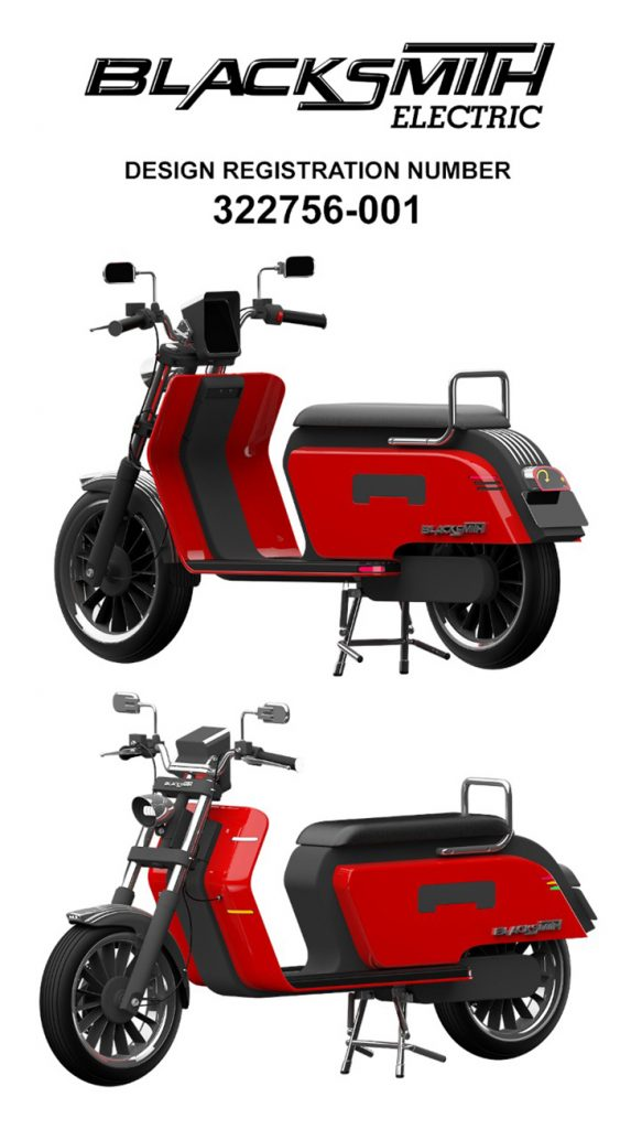 Blacksmith Electric - B4 - THE PACK - Electric Motorcycles News