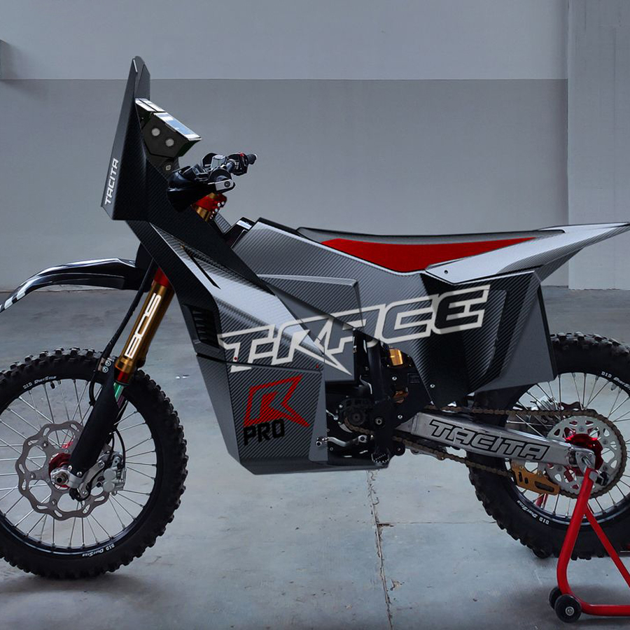 TACITA T-RACE RALLY PRO 2021 DAKAR - THE PACK - Electric Motorcycles News