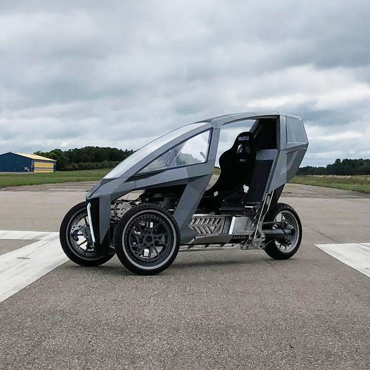 AKO Trike - crowdfunding campaign - THE PACK - Electric Motorcycles News