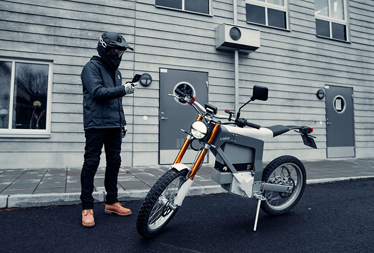 Cake Connect app - THE PACK - Electric Motorcycles News
