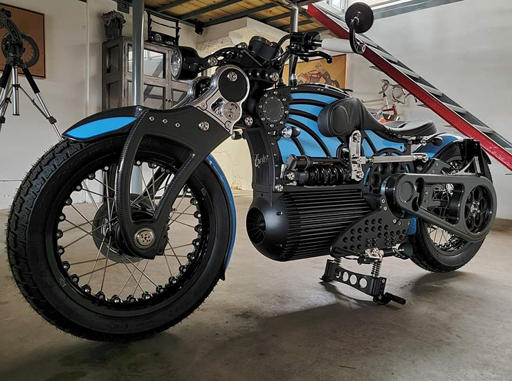 Curtiss Motorcycles - Curtiss One - THE PACK - Electric Motorcycles News