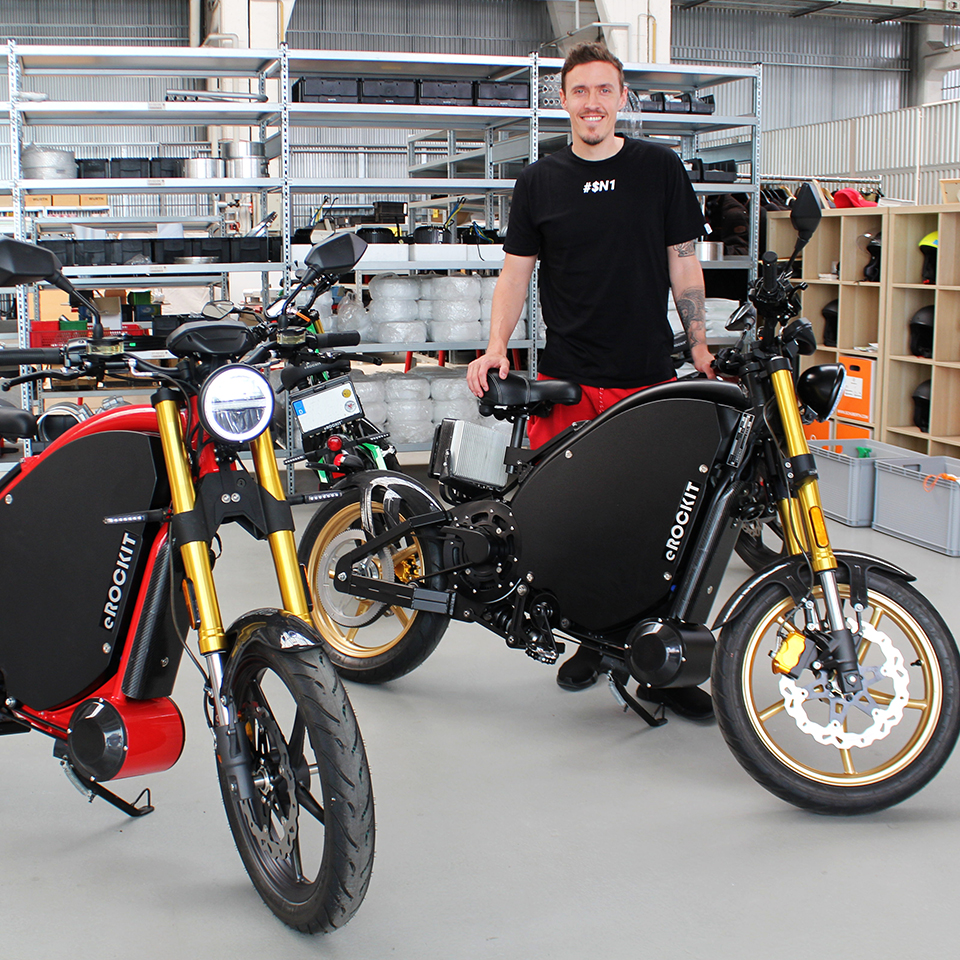 eROCKIT - Max Kruse - THE PACK - Electric Motorcycles News