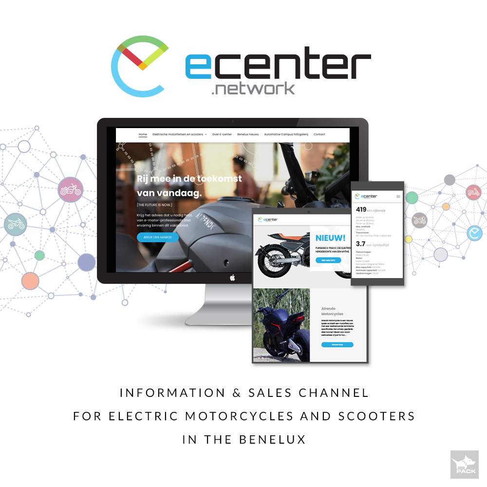 E-center Network - Automotive Campus - Electric Motorbikes - THE PACK - Electric Motorcycles News