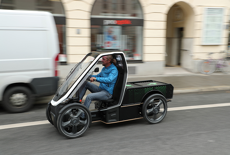 Bio-Hybrid mobility startup launches sales of first cargo model PICK-UP