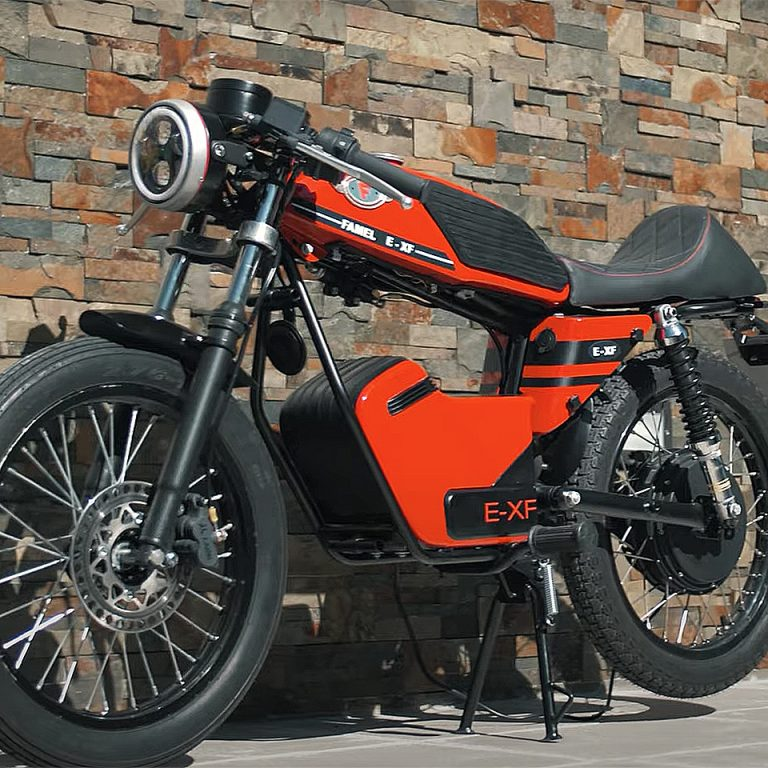 Famel E-XF Portugal - THE PACk - Electric Motorcycles News