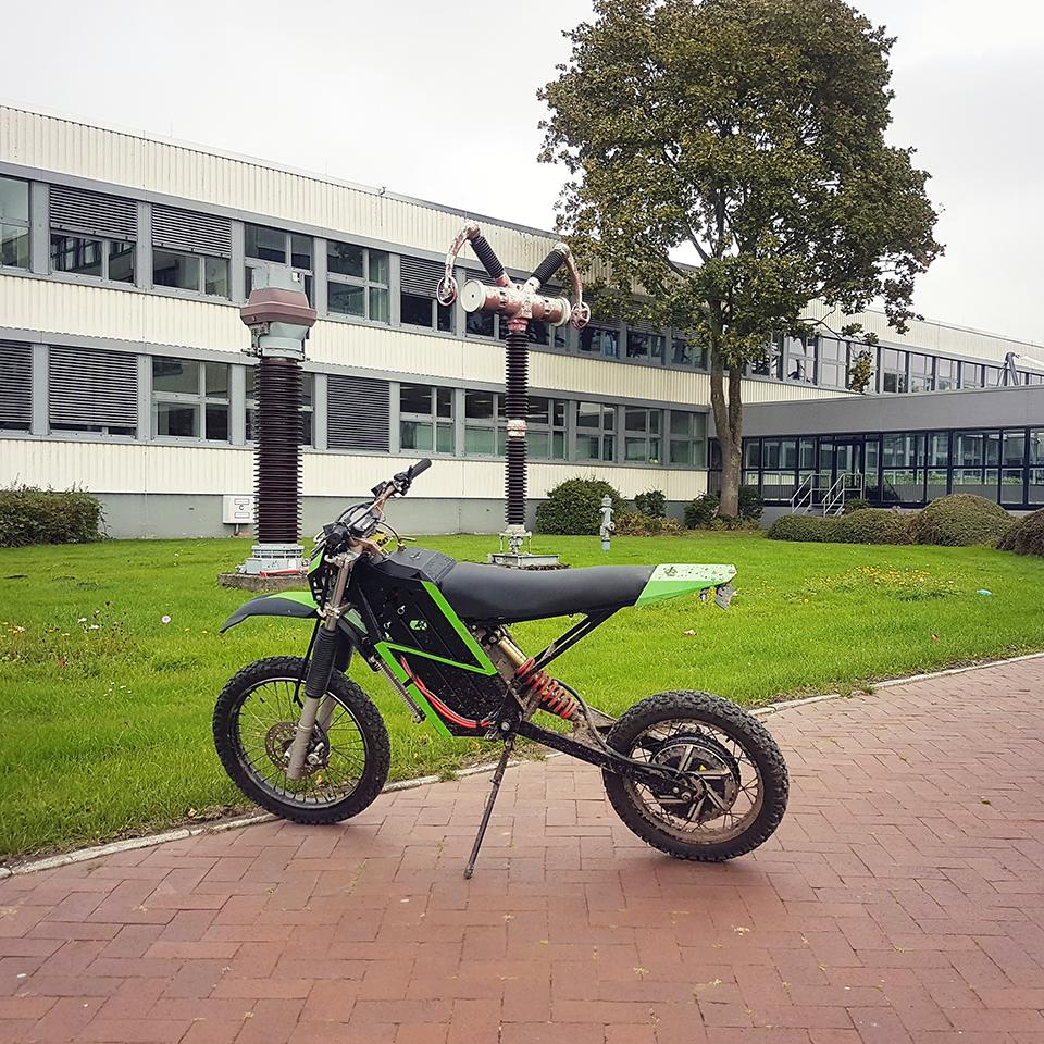 NTRX Enduro prototype | THE PACK | Eletcric Motorcycles News