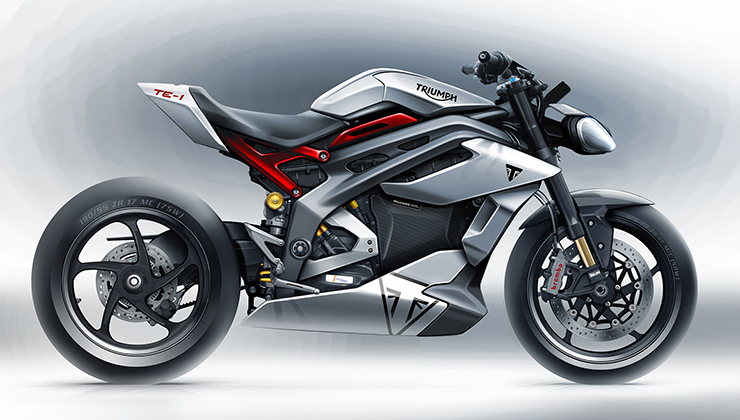 Project Triumph TE-1 - THE PACK - Electric Motorcycles News