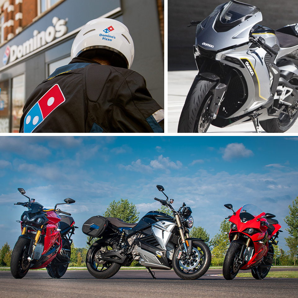 Business talk - industry news - investor relations - THE PACK - Blitz - Damon Motors - Energica