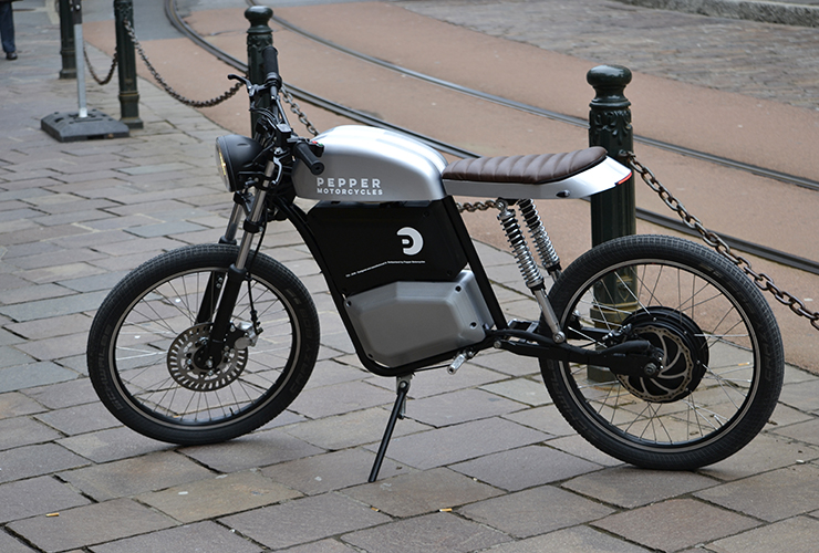 Pepper Motorcycles prototype | THE PACK | Electric Motorcycles News