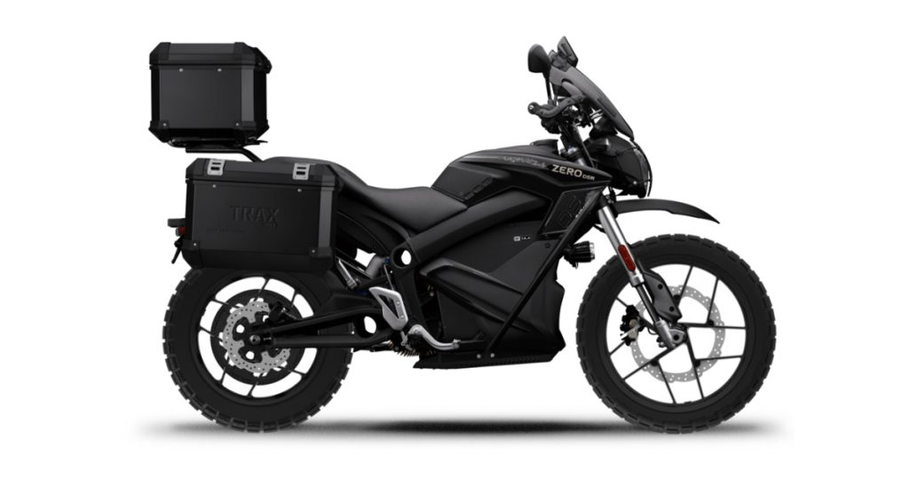 E-center |THE PACK |Zero DSR Black Forest - Zero Motorcycles |Electric Motorcycles News