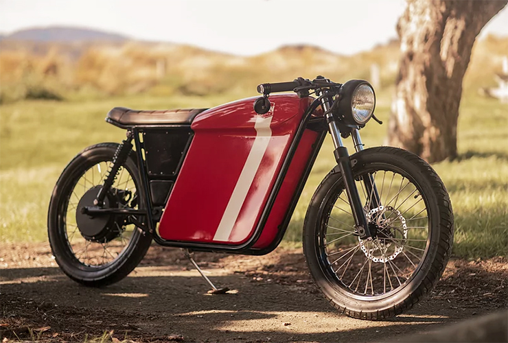 FTN Motion Founder's Edition Streetdog - THE PACK - Electric Motorcycles News