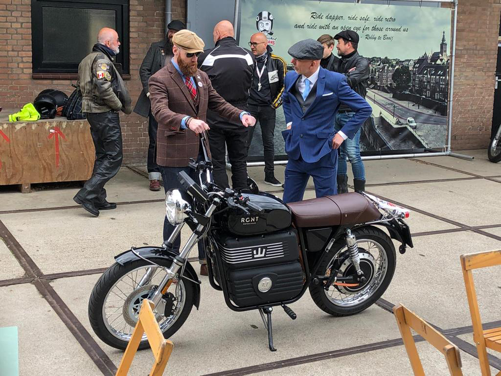 The Distinguished Gentleman's Ride - THE PACK - Electric Motorcycles News