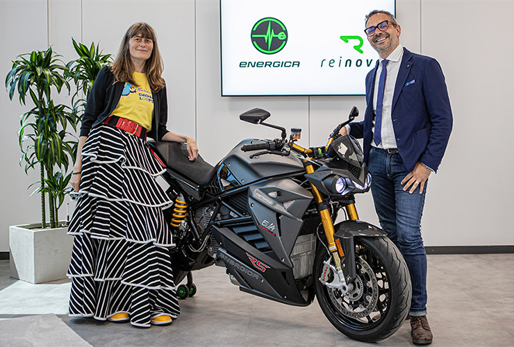 Energica -Reinova - THE PACK - Electric Motorcycles News