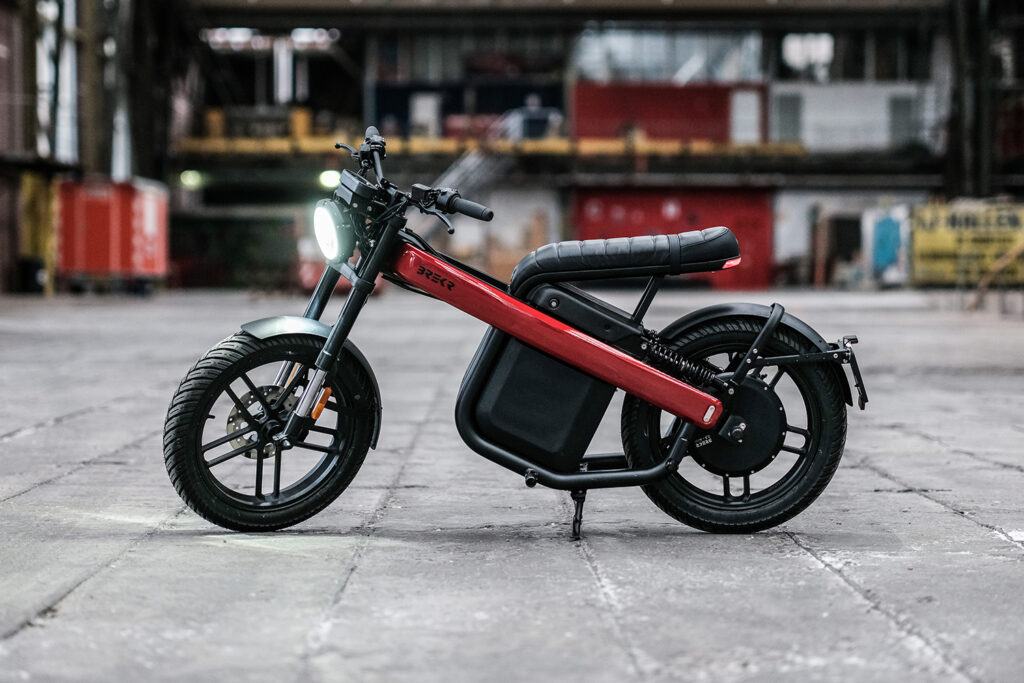 BREKR - new capital - THE PACK - Electric Motorcycles News