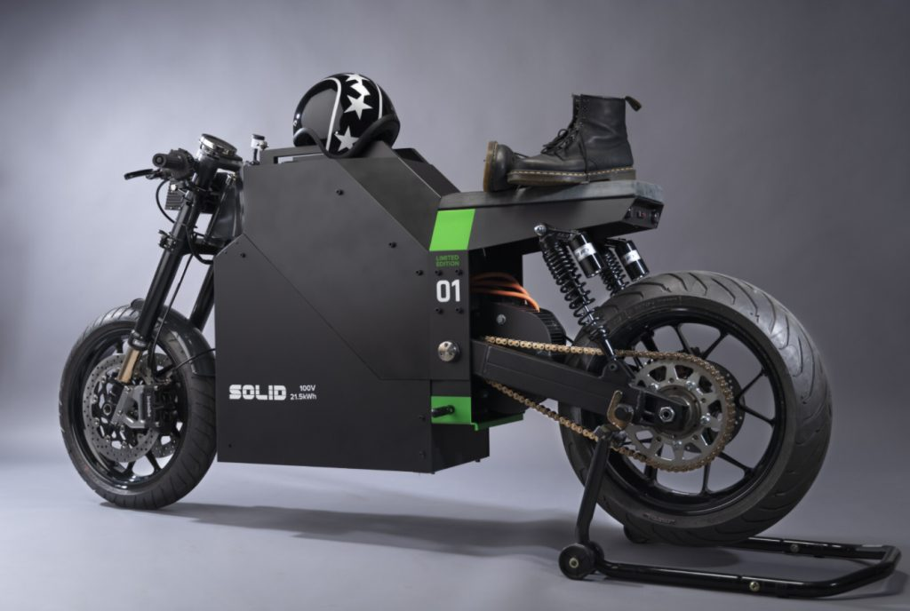 SOLID EV RIDES - THE PACK - Electric Motorcycles News
