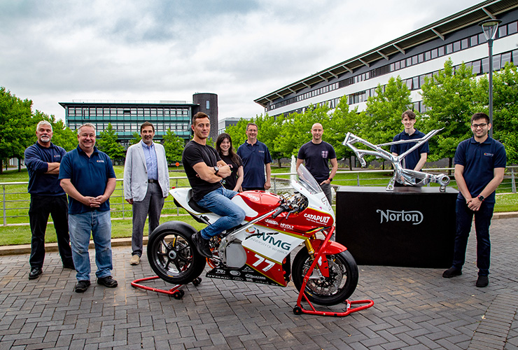 Norton Motorcycles - University of Warwick - THE PACK - Electric Motorcycles News