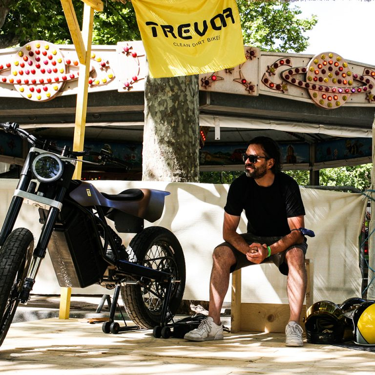 Trevor Motorcycles ElektraFuture Wheels ad Waves - THE PACK - Electric Motorcycles News