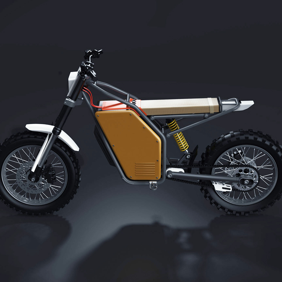 Offset Motorcycles OFR-M1 - The Pack - Electric motorcycle news