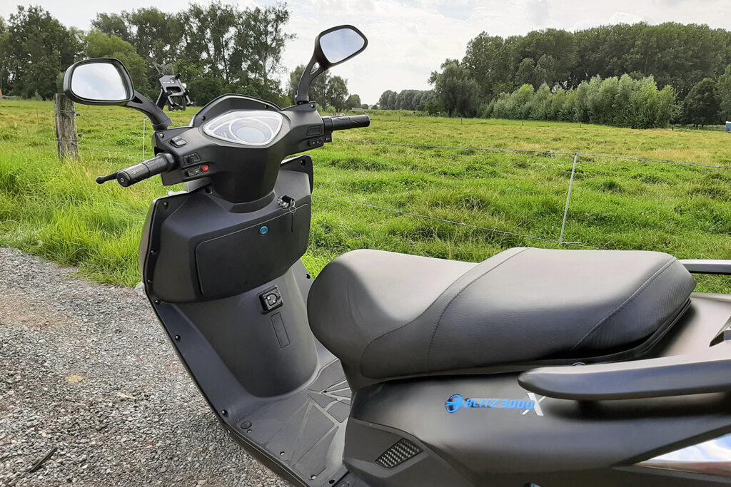 Blitz Motors - Blitz3000X - THE Pack - Electric Motorcycle News