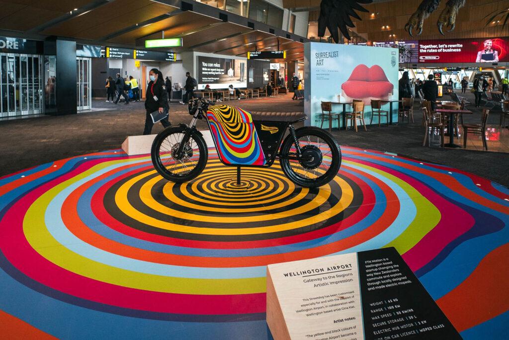 FTN Motion Streetdog Wellington Airport Gina Kiel - THE PACK - Electric Motorcycle News