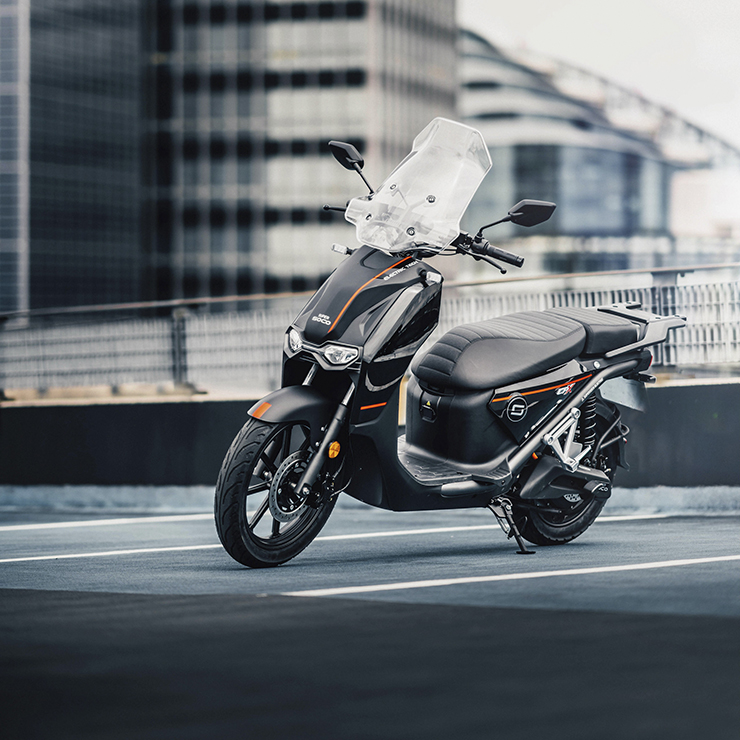Super Soco - THE PACK - Electric Motorcycle News