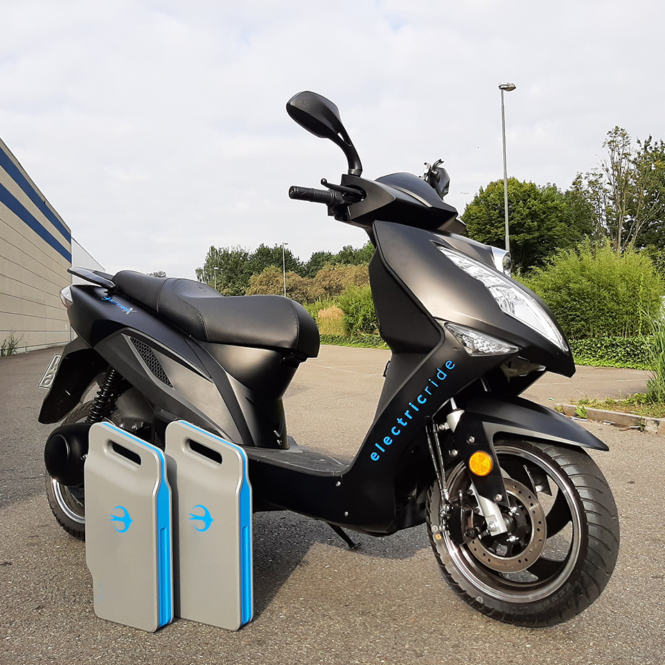 BLITZ3000X Testride - THE PACK - Electric Motorcycle News