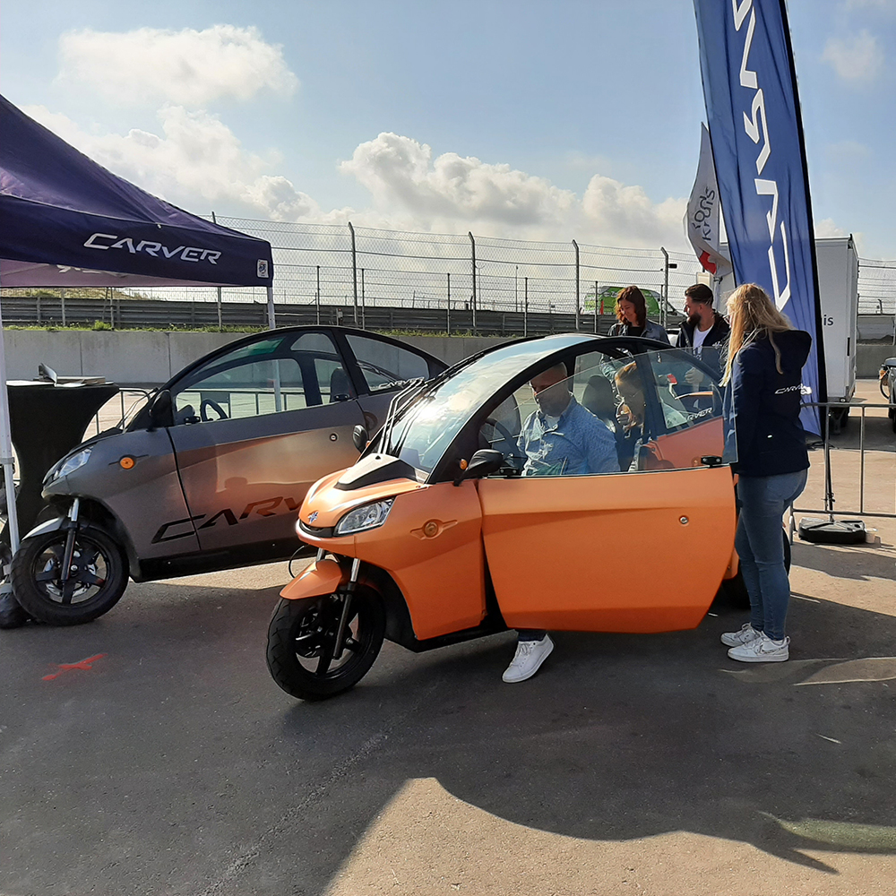 EV Experience - Circuit zandvoort - THE PACK - Electric Motorcycle News