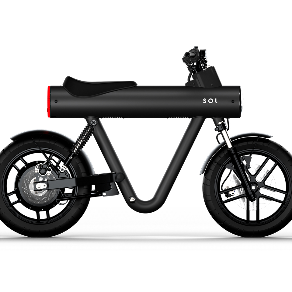 SOL Motors - Pocket Rocket - THE PACK - Electric Motorcycle News