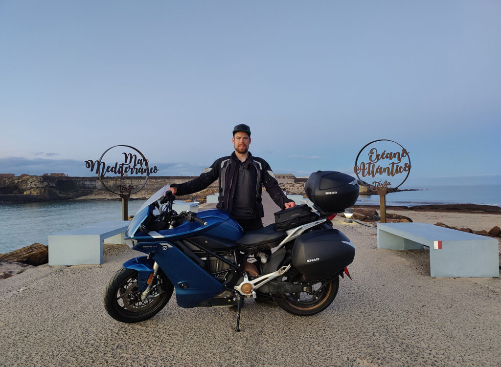 Sebastian Goess - Zero Motorcycles - THE PACK - Electric motorcycle traveling